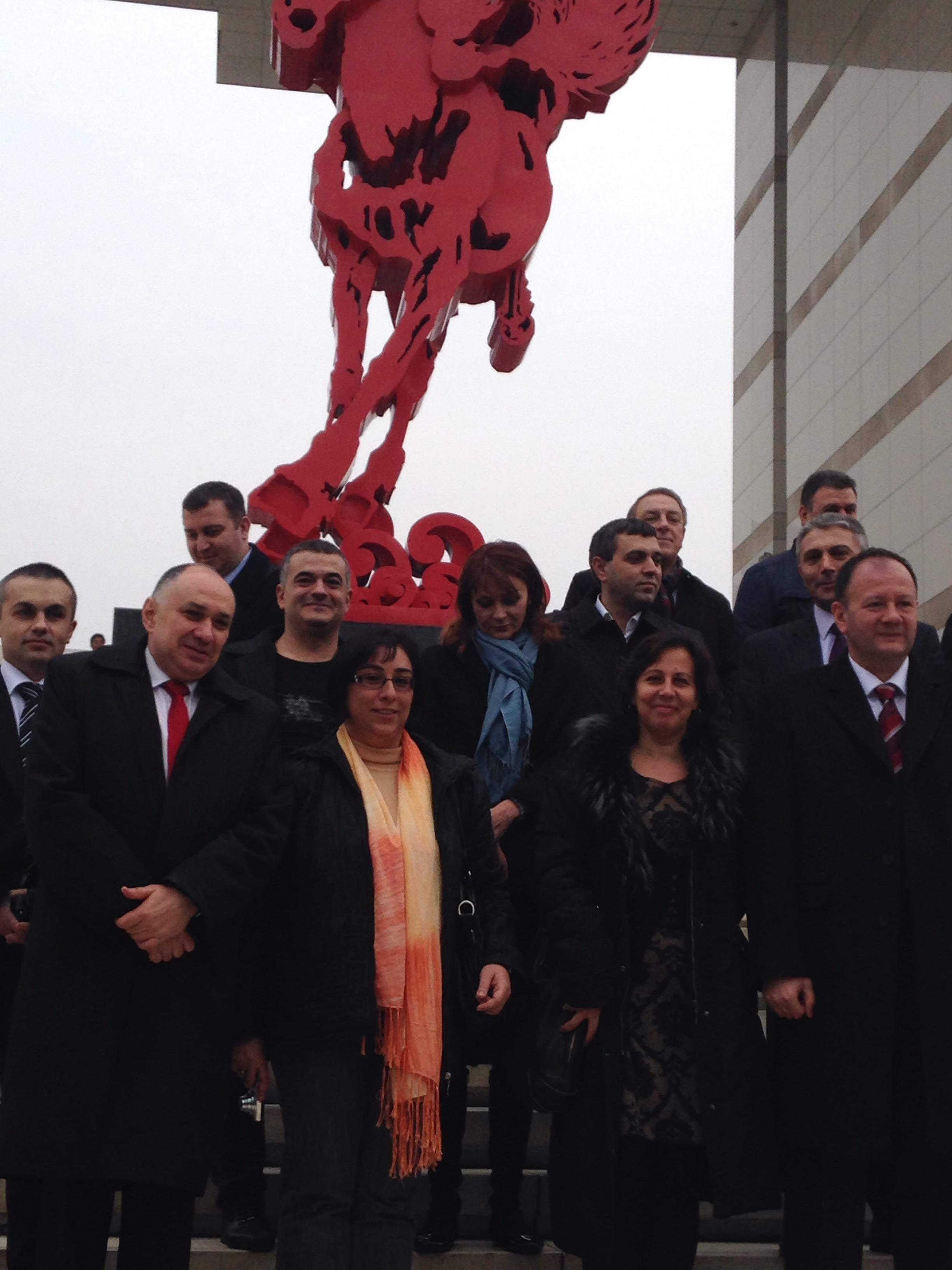 Година на коня Монумент в гр Чонцин