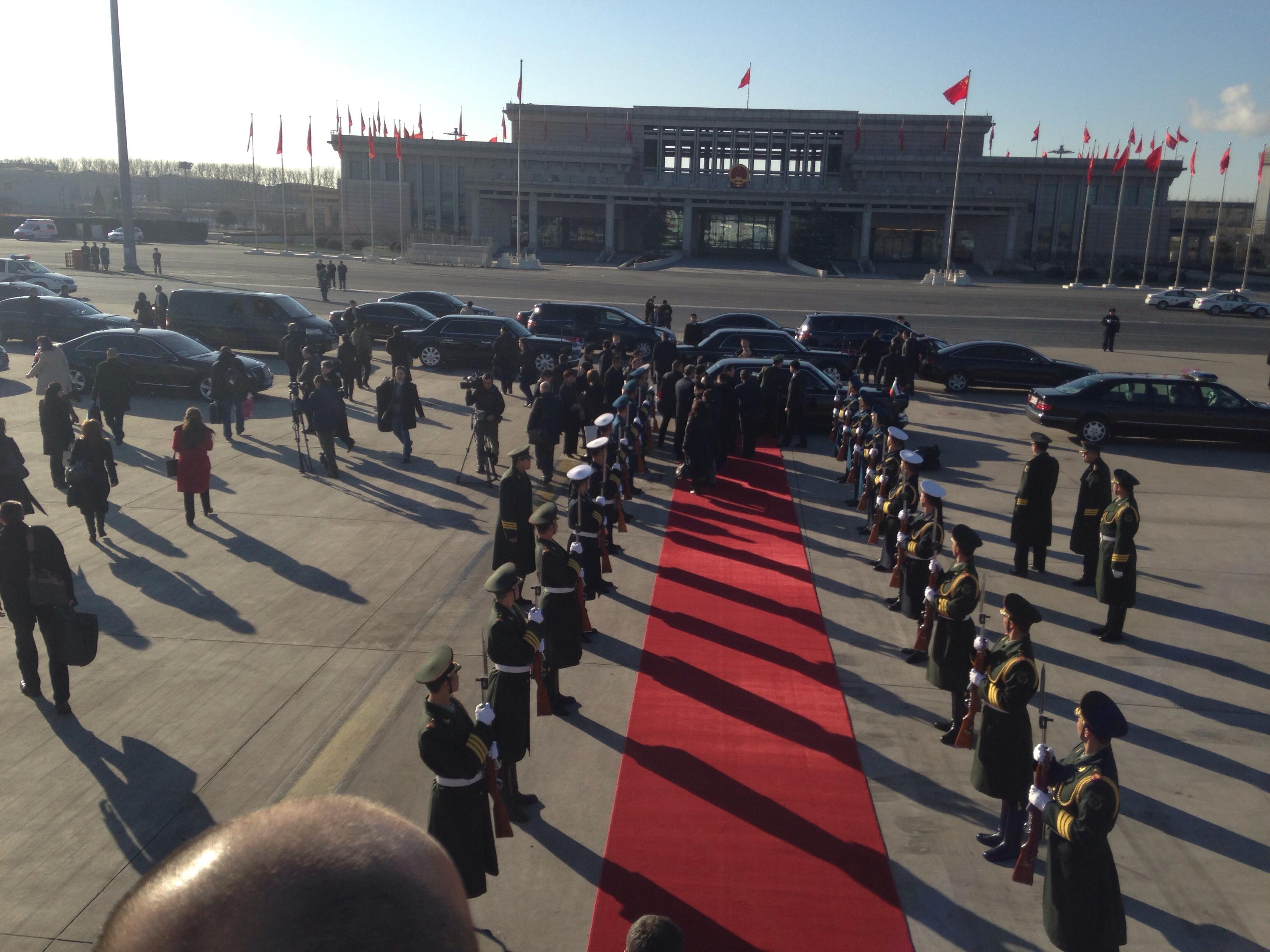 Посещение на президента в Пекин