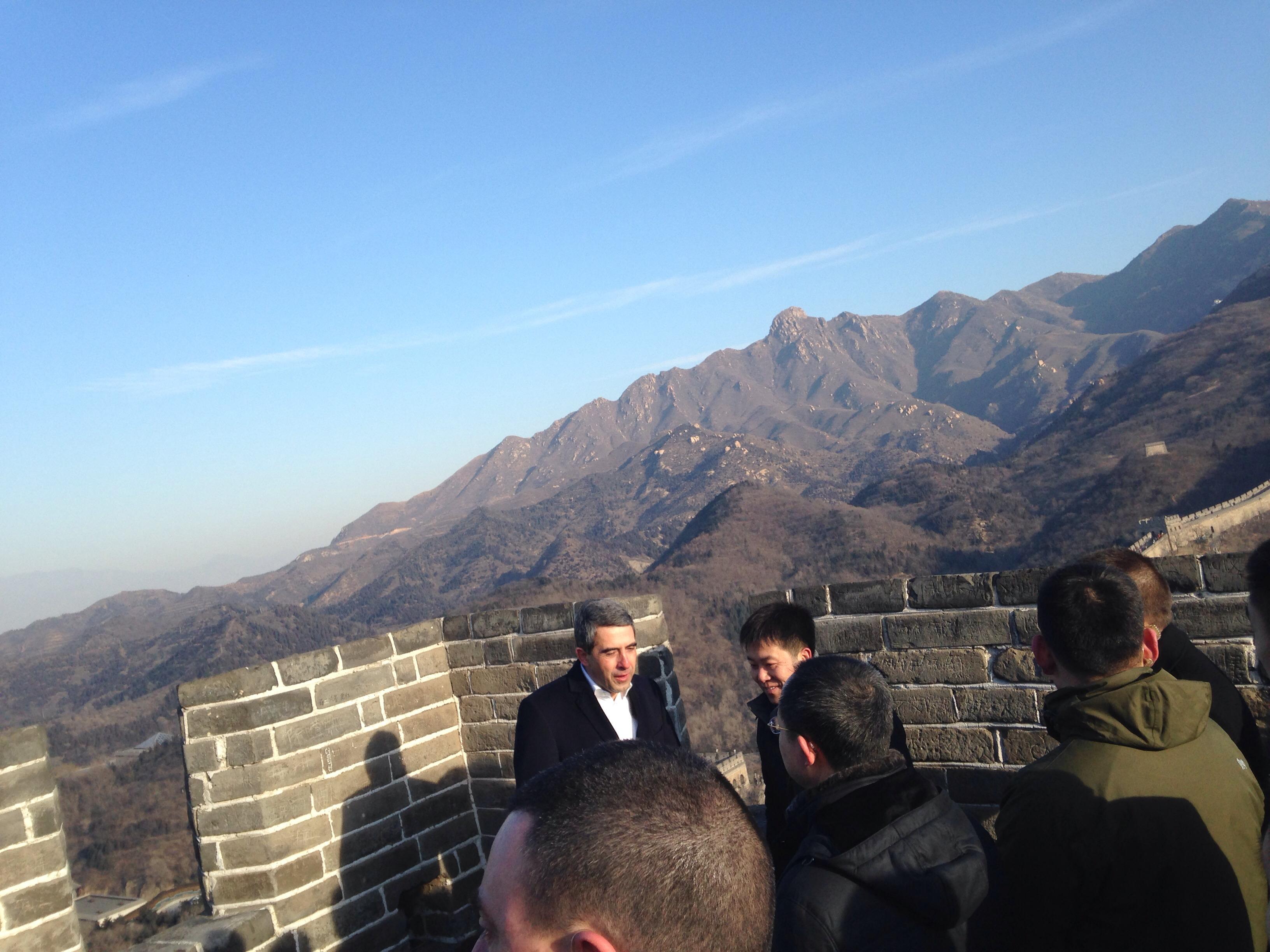 Посещение на китайската стена