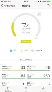 Замърсяване в Пекин