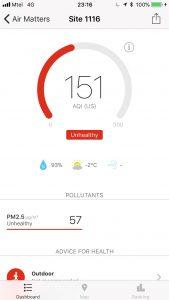 Замърсяване в София