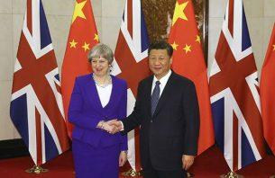 Британският премиер Мей на посещение при Си в Китай