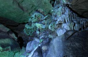 Bacho kiro cave in Bulgaria