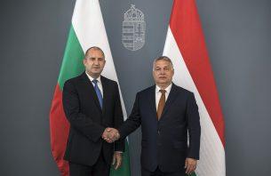 President Radev in Hungary