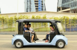 Feature: Jump-starting China's self-driving vehicle industry