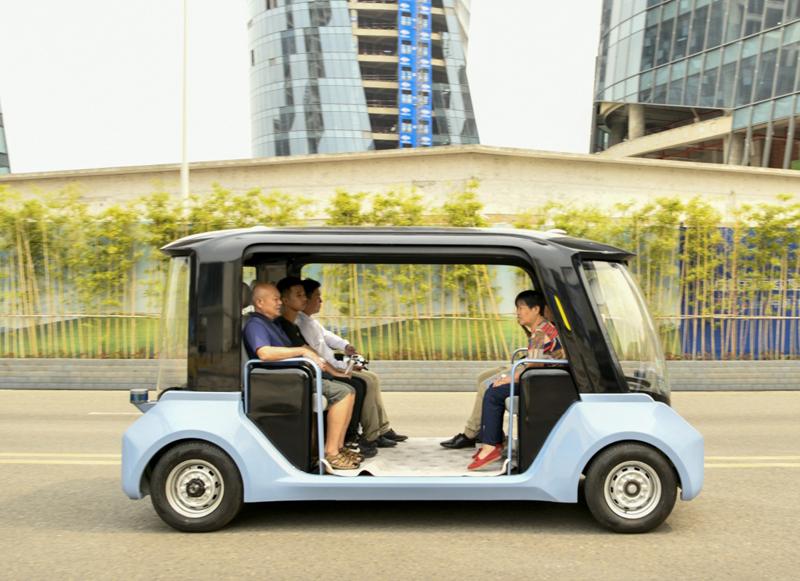 国内首个5G自动驾驶开放道路场景示范运营基地迎来公众开放体验日