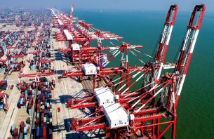 Xinhua Headlines: Booming Chinese ports boost worldwide connectivity, prosperity