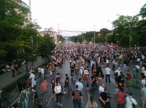 Second day protest in Sofia against mafia Government