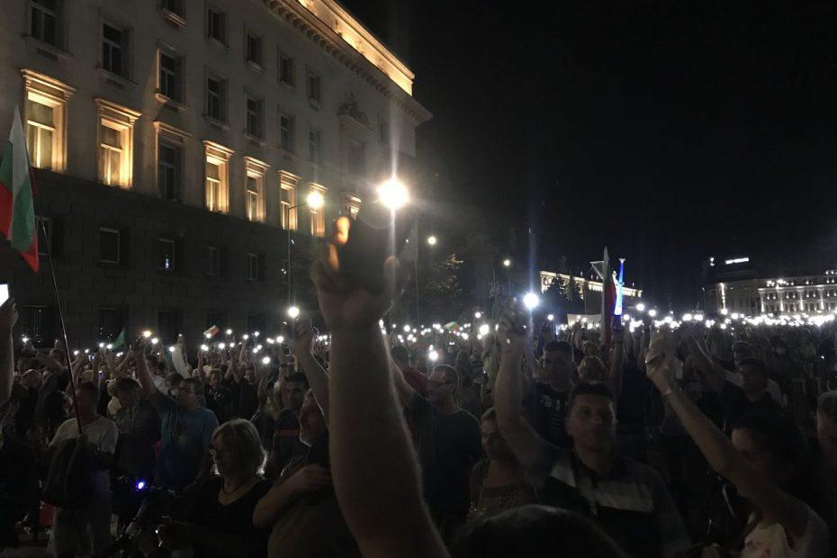 保加利亚社会抗议浪潮