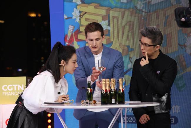 Второто живо предаване на КМГ за европейските продукти привлече 30 милиони китайски зрители